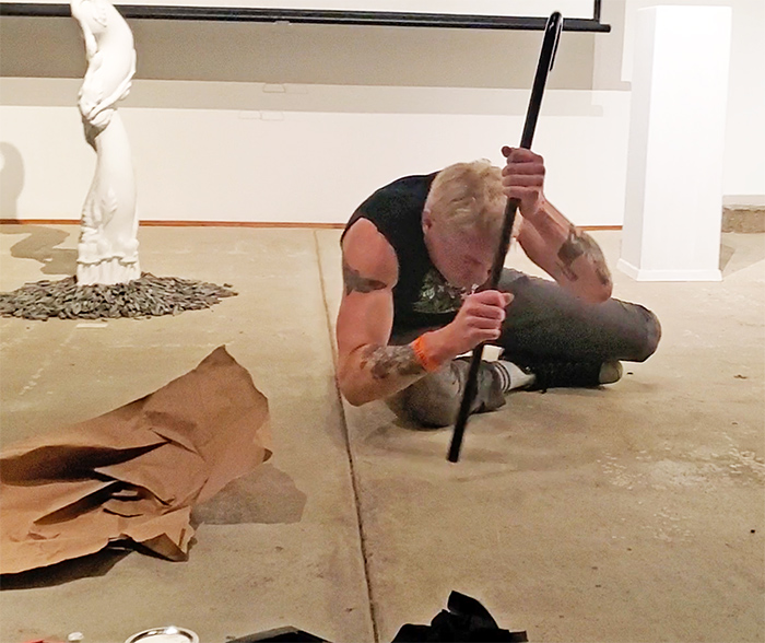 Scotch Wichmann - Performance Art - John's Arrow