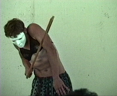 Scotch Wichmann - Performance Art - Facing the Frame