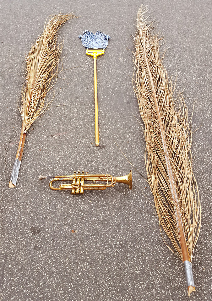 Scotch Wichmann - Performance Art - Bugle, Mop, Frond
