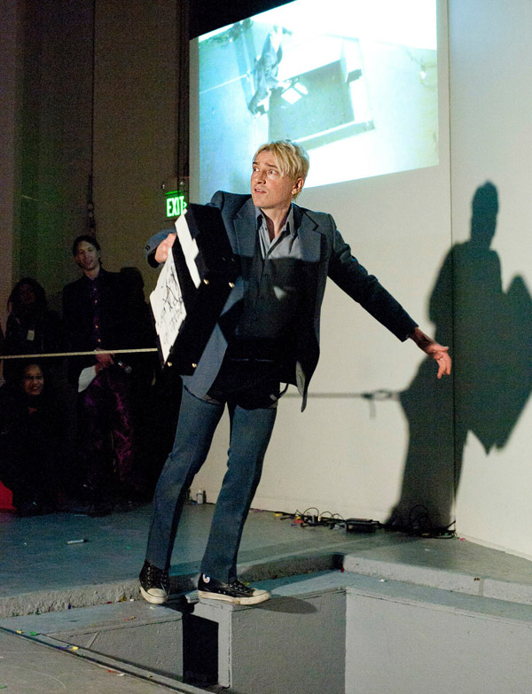 Scotch Wichmann - Performance Art - Echolocation For The Unconscious