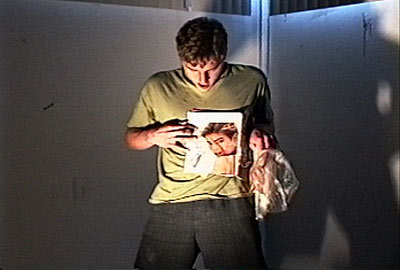 Scotch Wichmann - Performance Art - Trash Eat